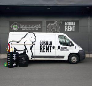 GorillaRent - Keskikokoiset pakettiautot