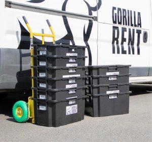 GorillaRent - Pakettiautot
